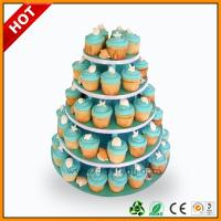 China Advertising wedding cake stand / 3 Tier Art Paper paper corrugated on sale