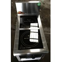 2.4Kw Commcercial Induction Cooker 2 Zone , Commercial Induction Hob Manufactures