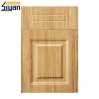 China PVC Film Pressed MDF Cabinet For Vinyl Wrapped Kitchen Doors Reviews on sale