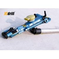 Light Weight Hand Held Pneumatic Rock Drilling Machine Air Compressor Power Type Manufactures