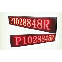 Cheap 32*16 Resolution p10 single red Bi Color LED Display board 1/4 Scan method for sale