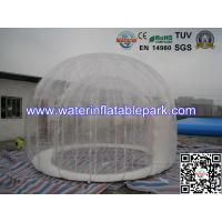 Double Layer 4 M Diameter Inflatable Outdoor Bubble Tent / Clear Dome Tent Manufactures