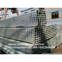 TOP1 China Manufacturer hot dipped galvanized square steel pipes professional