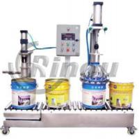Weighing Type Semi-Automatic Liquid Filler (RNJ01-50-II) Manufactures