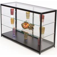 60 Inch Cell Phone Display Cabinet With Sliding Door Adjustable Shelves