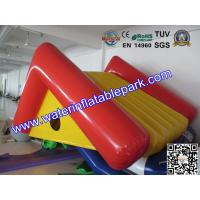 Kids Play Water Park Toy Inflatable Floating Climbing Slide For Water Pool Manufactures