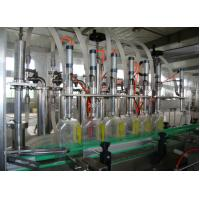 Cheap Electric Gel / Shampoo / Motor Oil Automatic Filling And Capping Machine with Piston Pump for sale