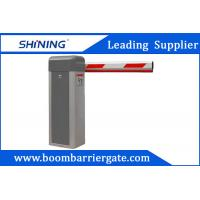 AC Motor Gray Telescopic Vehicle Parking Entrance Barrier For Promotion