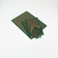 Green Glass Fibre Pcb Prototyping Board 5×5 cm With Parts Assembled Manufactures