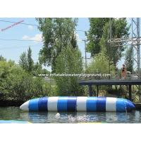 Adults Floating Water Games Inflatable Catapult Blob In Lake / Sea