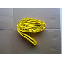 Flexible Yellow Polyester Endless Round Sling 3000Kg For Port Loading Manufactures