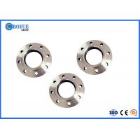 Stainless Steel Slip On Pipe Flanges , SORF Flange 1/2'' 2'' B16.5 / B16.47 Manufactures