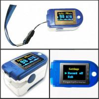 Finger pulse Oximeter Blood Oxygen SpO2 Monitor with free software /USB Model 50D+ Manufactures