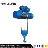 Single speed and Double speed electric wire rope hoist Manufactures