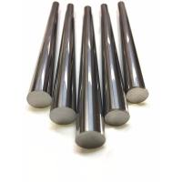 YL10.2 Tungsten Carbide Round Blanks Groud And Unground Rod With Helix Hole Manufactures