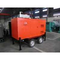 Buy cheap Mobile Trailer Mounted Generator 40KW / 50KVA With Silent Canopy And Fuel Tank from wholesalers