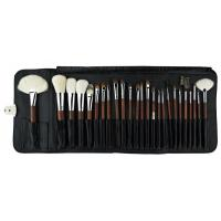 High Grade  Sliver Copper Best Makeup Brushes With Goat Hair