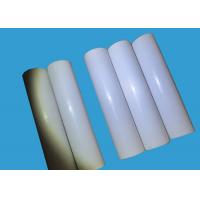 White PTFE Plastic Sheet / PTFE Extruded Rod Thickness 0.2mm ~ 30mm