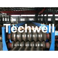 Galvanized Plate / Steel Corrugated Sheet Roll Forming Machine for For Wall Panel Manufactures