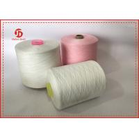Cheap 40/2 Raw White Paper Cone Ring Spun 100% Polyester Yarn AA GRADE for sale