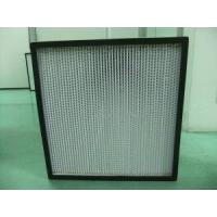 HEPA Filter with Al Separator for HVAC System Manufactures