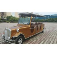 48V Battery Operated Antique Electric Cars With Brown Seat Environmental Friendly Manufactures