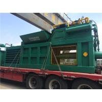 Baler Equipment / Crate And Plastic Baling Machine With Push Button Operation