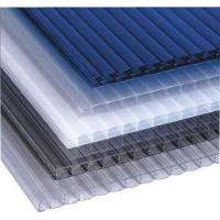 Buy cheap Waterproof Eco Friendly greenhouse twin wall polycarbonate sheet 4mm 8mm 10mm from wholesalers