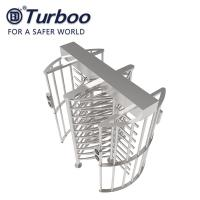 100-240V G536 Full Height Turnstile Gate SUS304 Material RS485 Automatic Access Control Manufactures