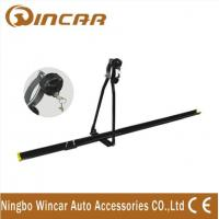 Universal iron car Roof Bike Carrier , Professional roof mount bike rack with key Manufactures