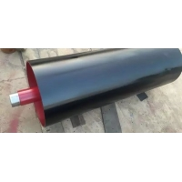 China Neoprene Vulcanized Lagging Take Up Pulley on sale