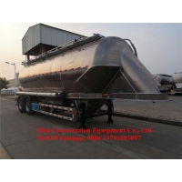 Plastic Granular Transport Semi Trailer 33m3 Middle Density Bulk Manufactures