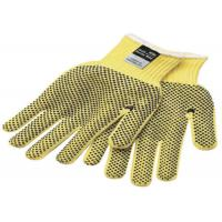 Yellow Black Kevlar Felt Cut Resistant Gloves 8mm 10mm Thickness Manufactures
