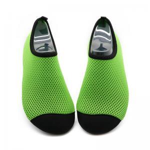 Quick Drying Aqua Mesh Swim Shoes Lightweight Anti - Slip Rubber Sole Manufactures