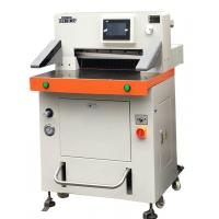 DB-520V8 Programmed Hydraulic Paper Cutting Machine 520mm With Touch Screen Manufactures