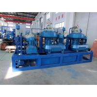50HZ 60HZ Self Cleaning Centrifugal Oil Purifier , Engine Oil Purification Machine Manufactures