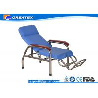 Reclining Stainless Steel Medical Dialysis Chair / Blood Donor Chair Manufactures