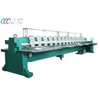 Commercial Multi-Head Flat Embroidery Equipment Machine , 15 Heads 9 Needles Manufactures