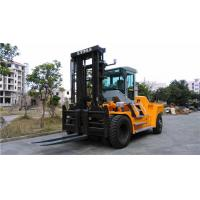 Quality Factory Workshop Diesel Forklift Truck 15 Ton Capacity 1600mm Fork Length for sale