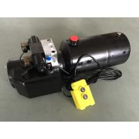 DC 12V 1.6KW  Work Pressure 18Mpa with Round Steel Tank Mini Hydraulic Power Packs for Fork-lifts Manufactures