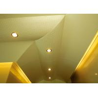 Quality Hollow Pattern Custom Ceilings  Roof Decorated With Singular Structures for sale