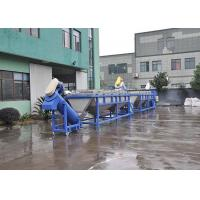 PP PE Plastic Film Washing Line Low Water Content Dewatered Dryed Durable Manufactures