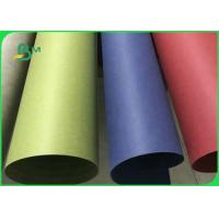 Biodegradable & Waterproof Multicoloured Washable Kraft Paper Roll For Handbags Manufactures