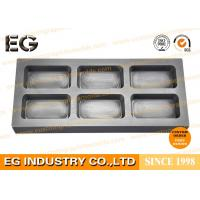 High Temperature Resistance Graphite Ingot Mold Customized Size For Gold Bar Casting Manufactures