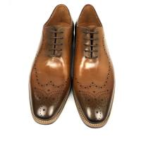 Buy cheap Burnished leather lace up mens dress formal shoes , oxford leather shoes from wholesalers