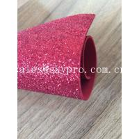 Sparkly Red Printed Glitter EVA Foam Sheet With Non Discoloring Adhesive Ethylene Vinyl Acetate Manufactures