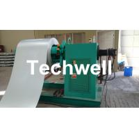Simple Steel Coil Slitting Cutting Machine for Carbon steel / GI / Color Steel Q235-Q350 Coil into Strips Manufactures