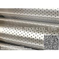 Stainless Steel Perforated Casing Pipe/Based pipe for Well drilling Manufactures