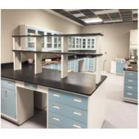 Mobile Science Lab Tables Work Benches , OEM Laboratory Furniture Systems Manufactures