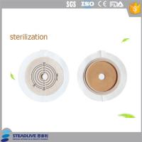 Hydrolloid Baseplate Wafer Colostomy Bag Accessories Light Yellow Color , FDA Standard Manufactures